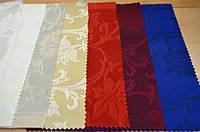 Teflon Цветы-150 (Рис.2) Цветная Скатертная ткань с пропиткой Тефлон