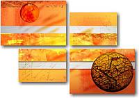 "Модульная картина ""Мираж""  (790х1130 мм)  [4 модуля]"