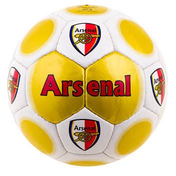 Мяч футбольный Duxion Arsenal Red/Gold/Black, фото 2