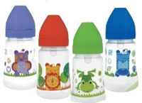 Бутылочка для кормления Akuku c широким горлышком 250 ml