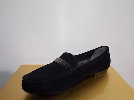 Женские балетки Ferragamo 876 черные замшевые, фото 2