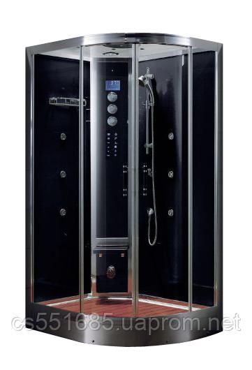 WS103L/S6  (90х120см) задние стекла черные. Паровая кабина Grandehome (Гидромассажный бокс)