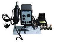 Термоповітряна паяльна станція 2/1 TECHNET 878