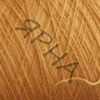 Пряжа на конусах Меринос конус 4500 (-желтый персик),(),IAFIL(Iталiя),50(гр),225(м)