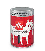 Молотый кофе Illy Espresso Dark Limited Edition 250 гр (Expo Milano)