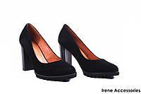 Туфли женские замш Geronea (изысканные, удобная колодка)