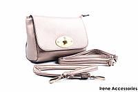 Изысканная женская сумка бронзового цвета