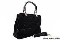 Модная женская сумочка Bonilarti Oalengi цвет черный, эко-кожа