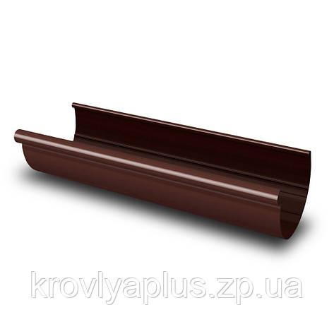 RАINWAY ЖЕЛОБ ВОДОСТОЧНЫЙ  90 коричневый(8017),3 мм, фото 2
