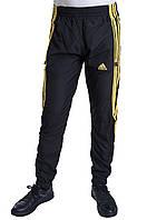 Мужские спортивные штаны Adidas черного цвета (плащевка). Хмельницкий