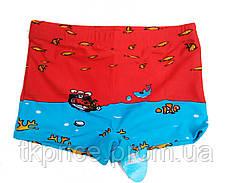 Детские купальные плавки шортиками