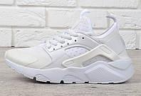 Кроссовки женские белые Nike Air Huarache Ultra, Белый, 40 , фото 1