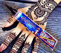 Хна для тату (мехенди) Golecha синяя в тюбике 25 грамм