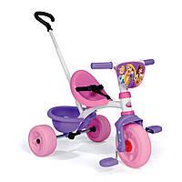 Велосипед трехколесный Be Move Princess  - Smoby - Франция - Ручка велосипеда регулируется по длине