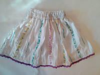Летняя юбка на девочку 3 - 4 года