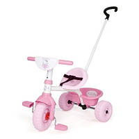 Велосипед трехколесный Be Move Hello Kitty  - Smoby - Франция - Ручка велосипеда регулируется по длине