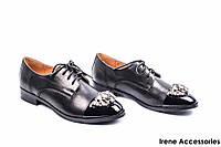 Туфли женские кожаные Sei I'uomo (комфортные,стильные с 35р)