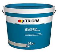 Шпаклевка, шпатлевка фасадная, Triora, 16 кг