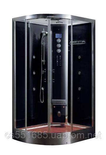 WS103R/S6 (120х90см) задние стекла черные. Паровая кабина Grandehome (Гидромассажный бокс)