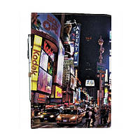 Блокнот на резинке Rainbow Таймс-сквер А6