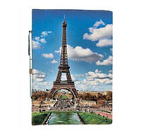 Блокнот на резинке Rainbow Эйфелевая башня А5