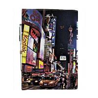 Блокнот на резинке Rainbow Таймс-сквер А5
