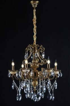 Люстра свеча  (ВЛ)  L66124/6 (GAB), фото 2