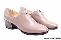 Элегантные туфли женские Maria Moro натуральная кожа (комфортные, каблук, визион)