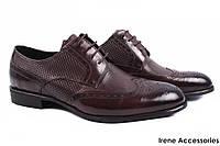 Туфли мужские Basconi натуральная кожа цвет кабир