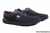 Туфли мужские Philipp Plein спорт летние нубук + натуральная кожа цвет черный (перфорация, платформа)
