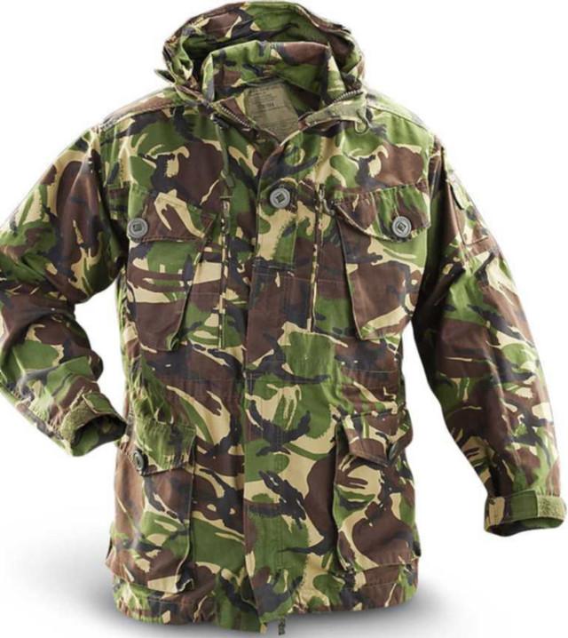 Камуфляжная куртка( парка) DPM CAMO