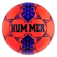 Мяч футбольный DXN White Hummer Red/Blue