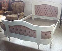 Кровать в классическом стиле из Европы б/у. После полной реставрации.