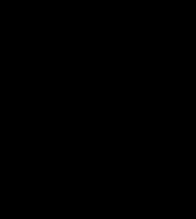 "Флюгер кований ""Кіт+миша""+ компас 70х70х100 см"
