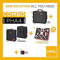 3 в 1 Кейс пластиковый и сумка KIT RESIN CASE HPRC2710 FOR PHANTOM 4 + BAG WITH FOAM - COMBO