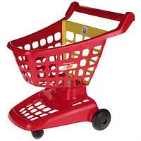 Набор Ecoiffier Тележка для супермаркета красная (001220-2)