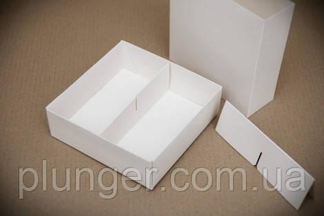 Коробка-пенал универсальная для конфет, печенья, зефира, мелованный картон, Белая