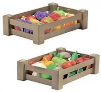 Игровой набор Ящик с продуктами Урожай овощи (000948-2)