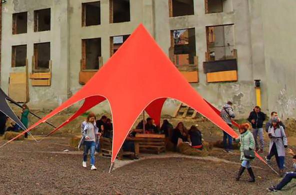 палатка звезда киев