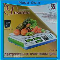 Электронные весы «Чемпiон» CH-810 (до 55кг)