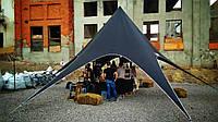 Палатка тент Звезда, 10 метров, Чёрный на 20 человек
