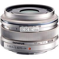 Объектив OLYMPUS EW-M1718 17mm 1:1.8 Silver (V311050SE000)