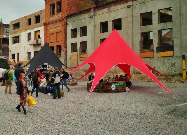 шатры в Киеве, производство