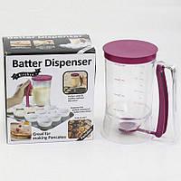 Диспенсер для жидкого теста Batter Dispenser, забудьте о горах грязной посуды