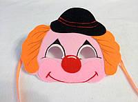 Карнавальная маска Клоуна. Детские сюжетно ролевые игры.