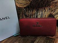 Кошелек Шанель,  Модный кошелек цвета «марсала»