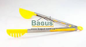 Щипцы универсальные 33см (ухват боковой) просиликоненые ручки Empire (EM-7086)