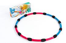 Обруч массажный Hula Hoop M007 HU-LA RING