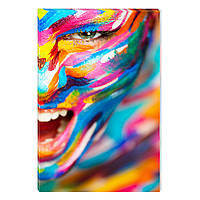 Светящиеся Картины Startonight Цветные Человеческие Эмоции Абстракция Печать на Холсте Декор стен Дизайн Интер