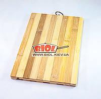 Дошка обробна з бамбука 20х30см, фото 1